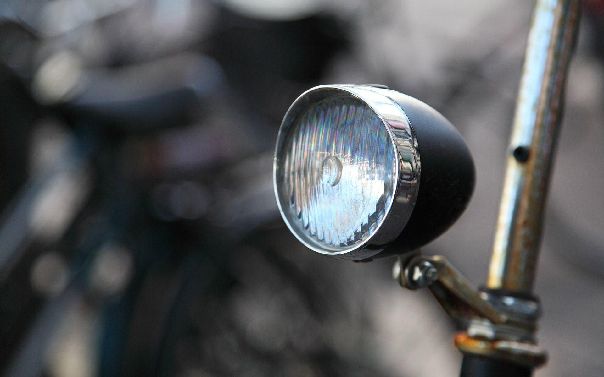 fahrrad licht lampe scheinwerfer dynamo