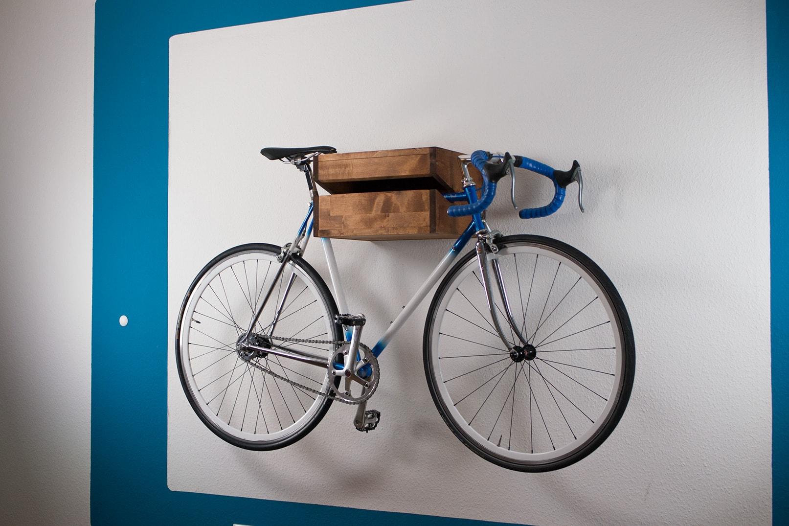 bikeshelf bauen min. Black Bedroom Furniture Sets. Home Design Ideas