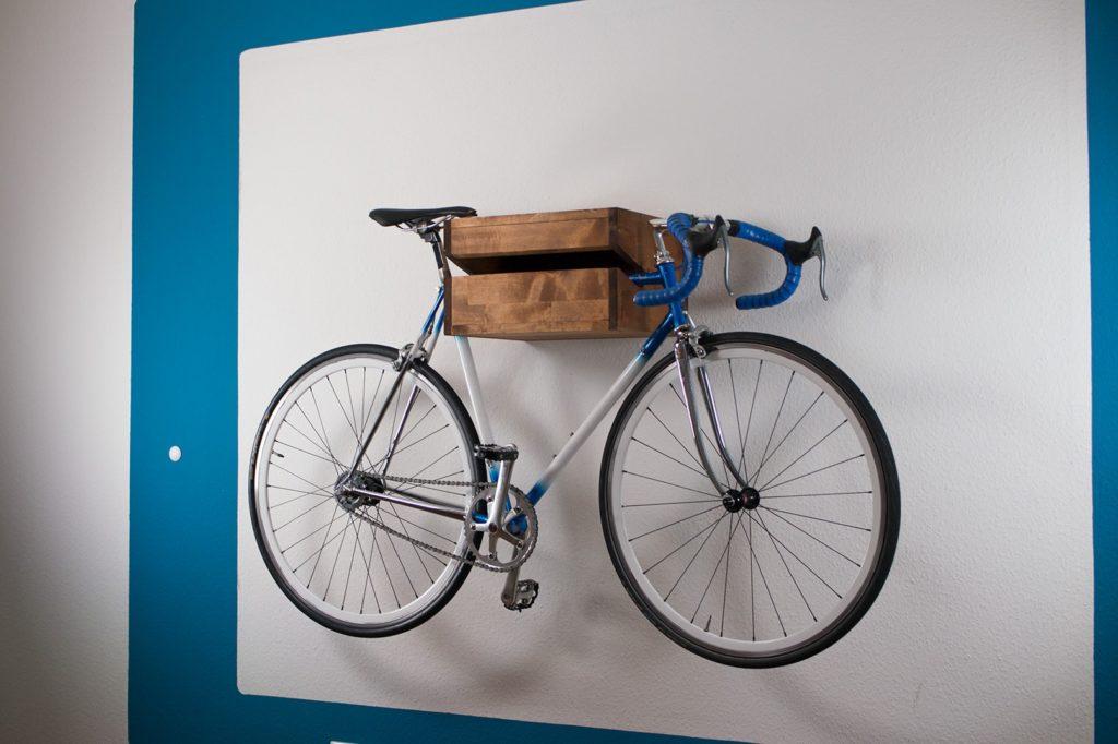 Fahrrad Wandhalterung Selber Bauen Anleitung Fotos Baumasse