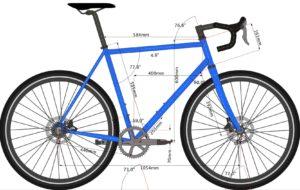 rahmengeometrie fahrrad