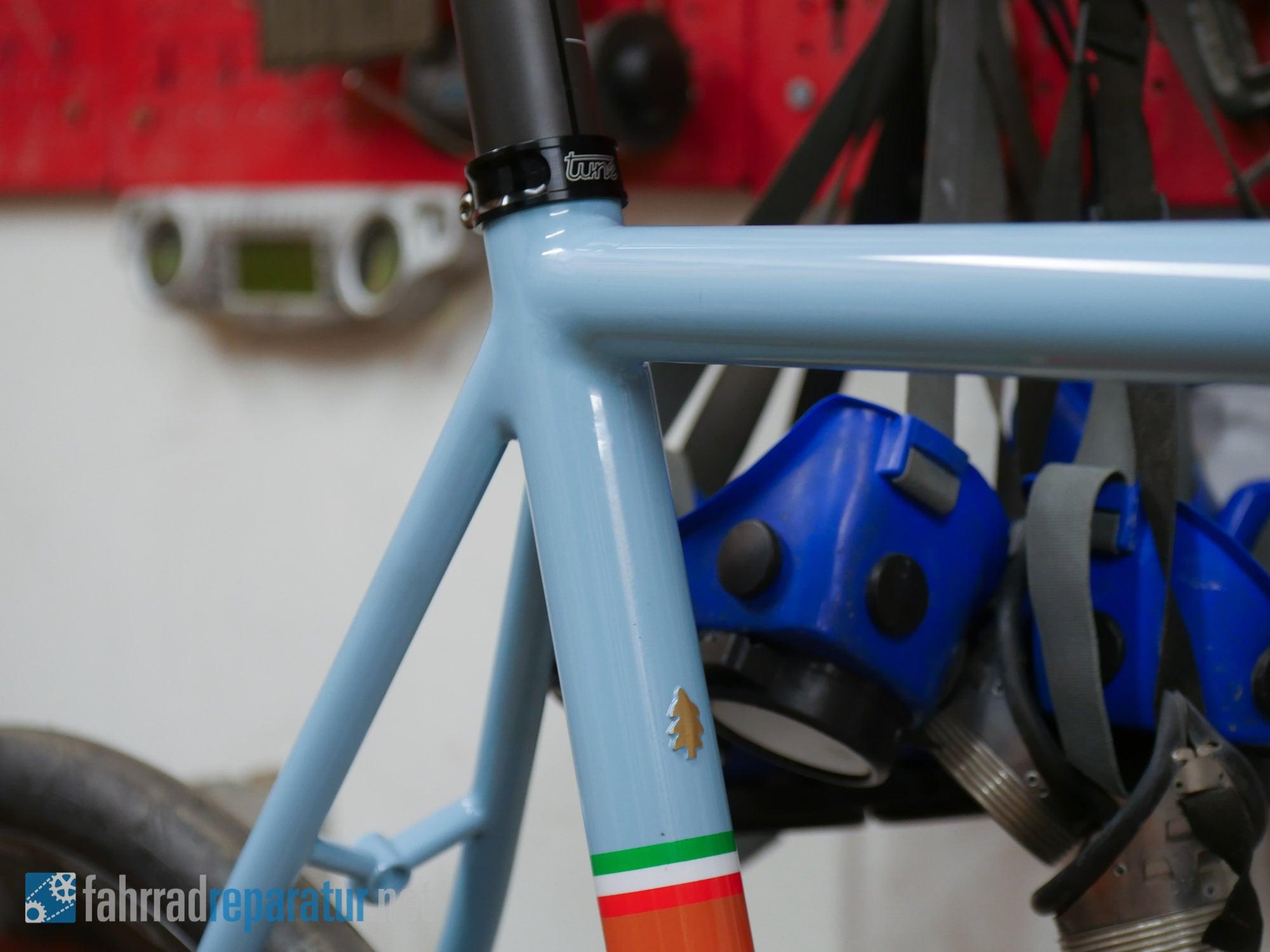 Fahrradrahmen selber bauen - Schweißen und Löten - fahrradreparatur.net