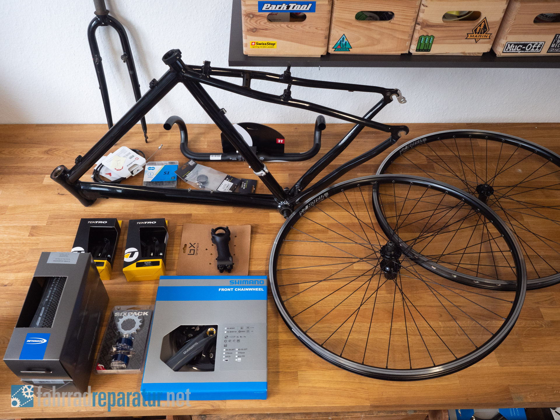 Singlespeed und Fixie zum selber bauen - Singlespeed Bikes